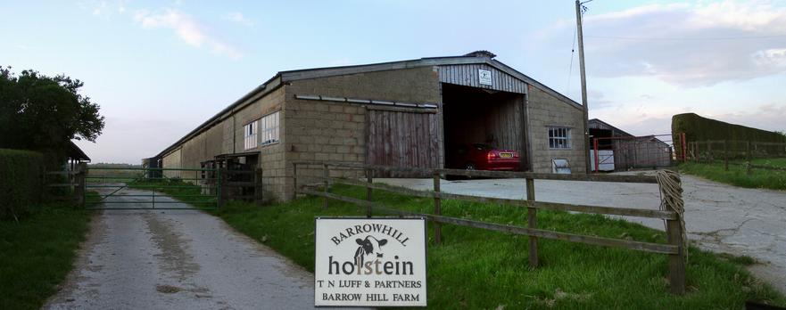 'BARROW HILL FARM' stables