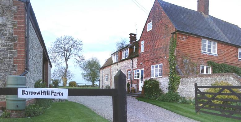 'BARROW HILL FARM' farm house