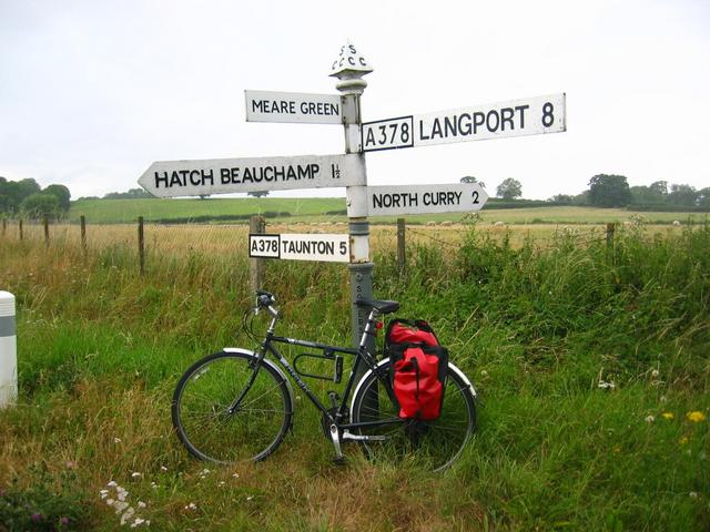 The Signpost in 220m Distance