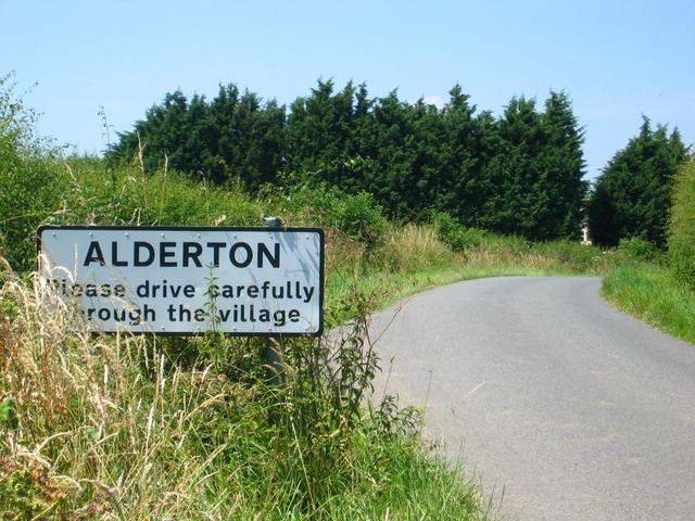Entering Alderton
