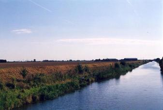 #1: Cowbridge Drain, and field containing confluence