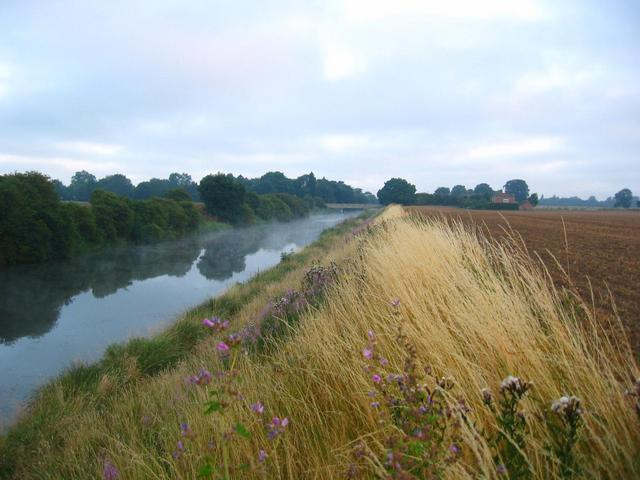 The Nearby Drainage Channel