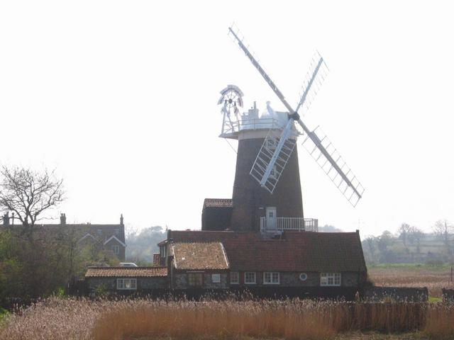 Windmill in Cley next the sea