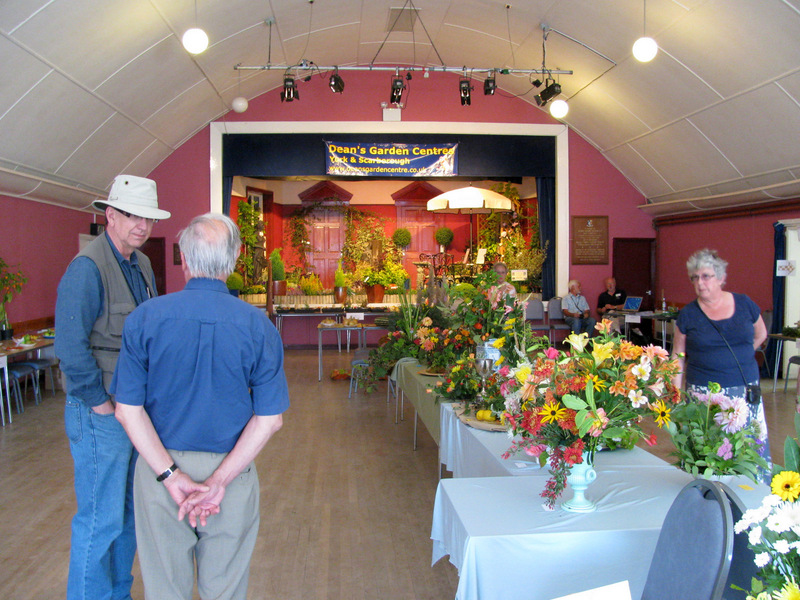 Green Fingers Garden Show in the Village Hall.