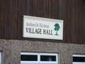 #8: Where to park:  under the Village Hall sign