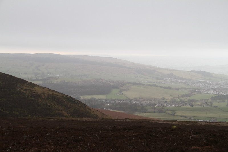 Views from Bardon Moor and Fell