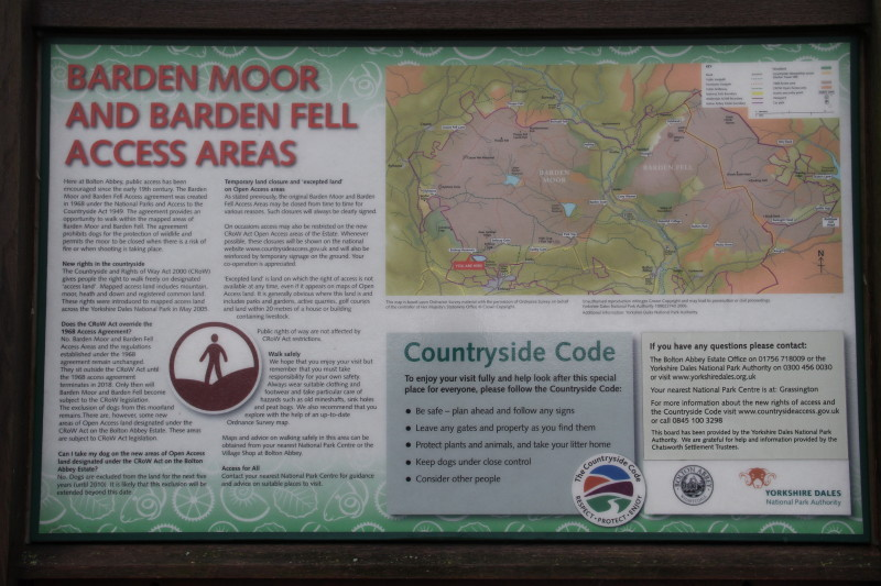 Entrance to Bardon Moor and Fell