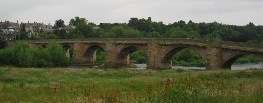 The Corbridge Bridge