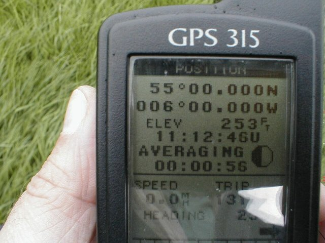 GPS with thumb