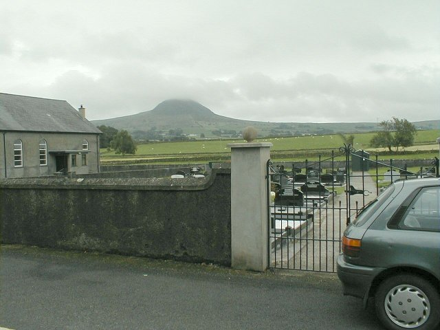 Slemish Mountain on way home