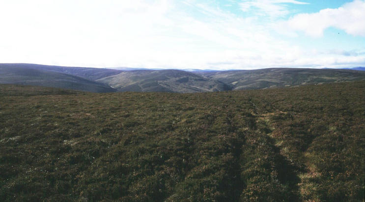 South and more plateaulands.The grouse shooters were operating out there.