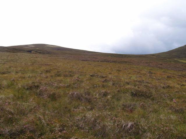 the view from the north: Meall an Dubh-chadha to the left and Meallach Mhor to the right