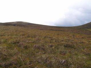 #1: the view from the north: Meall an Dubh-chadha to the left and Meallach Mhor to the right