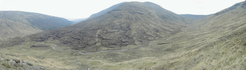Panorama view of the area