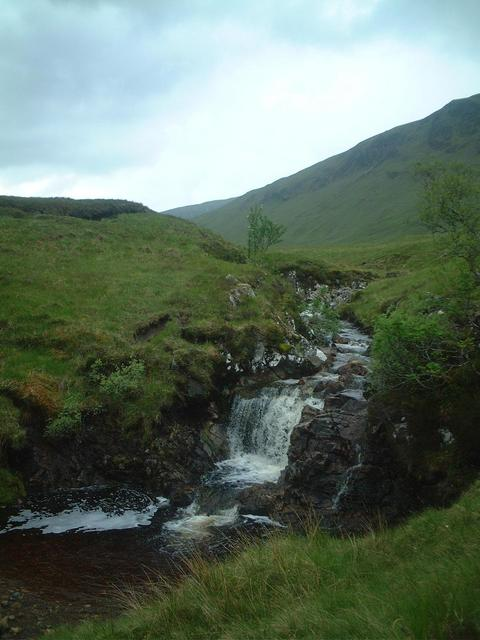 a wee waterfall