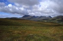 #9: the silhouette of Ben Mor Coigach, west of the CP