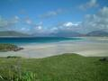 #6: a beach view with Taransay in the background