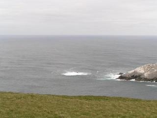 #1: It's out there - Muckle Flugga just to the right