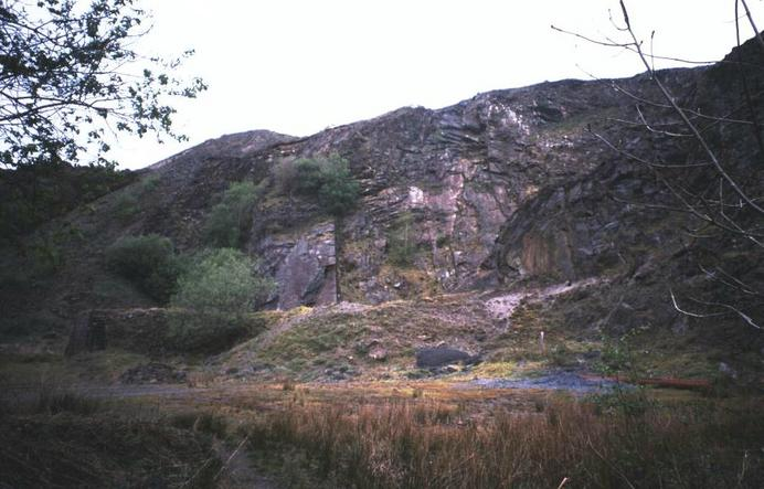 The old quarry.