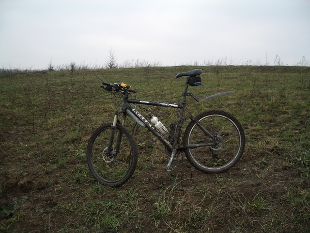My bicycle at point