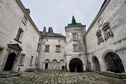 #7: Inner court of Olesko castle