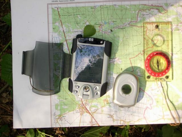Our equipment and map