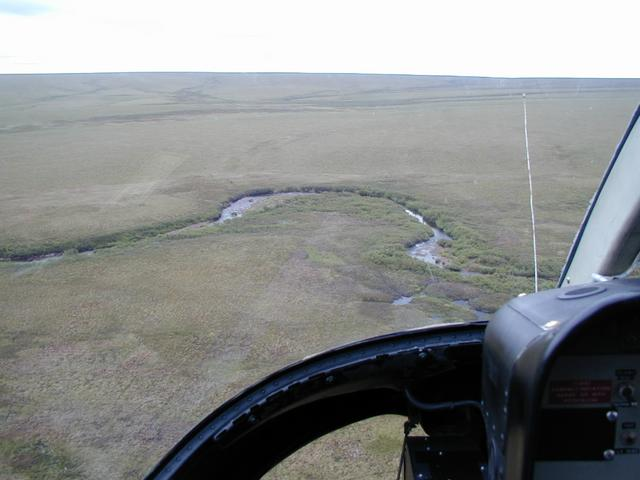 Looking East, tributary of the Kuparuk River