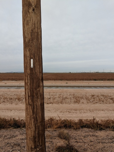 #1: Plowed field 75 m to confluence