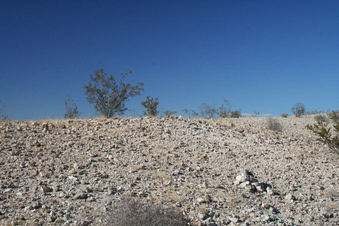 #1: looking north with previous visitor's rock cairn in view