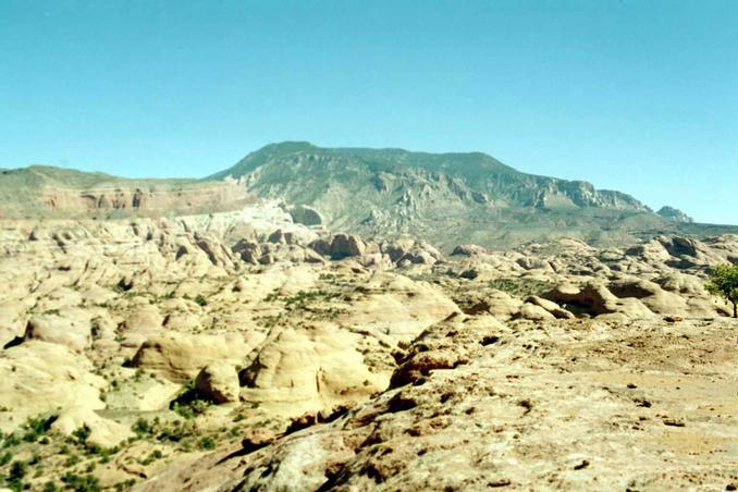 East toward Navajo Mountain