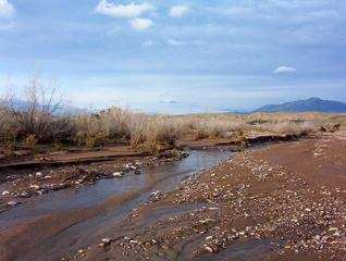 #1: View north up this channel of Beaver Dam Wash.