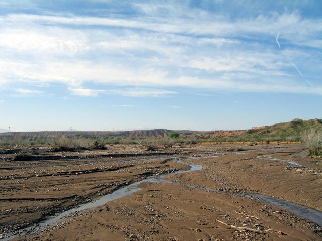 View south down the Beaver Dam Wash