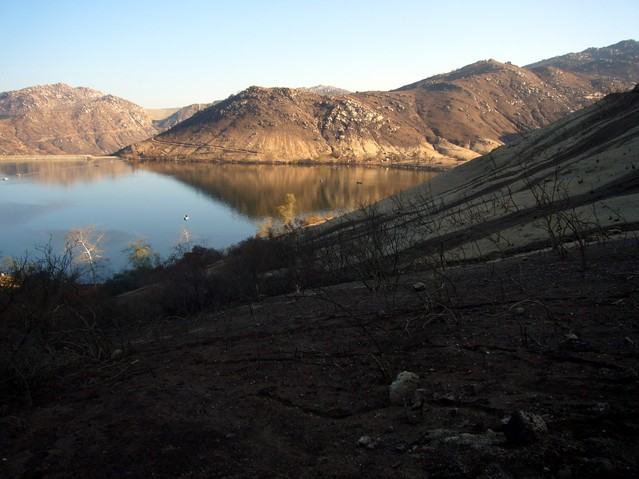 Lake Poway.  Compare with visit #5, photo #7