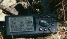 #5: My GPS receiver's display at the confluence point.