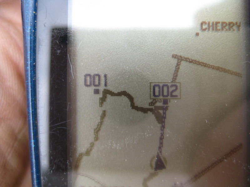 gps showing how close I got
