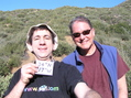 #5: Joseph Kerski and David DiBiase celebrate confluence centeredne