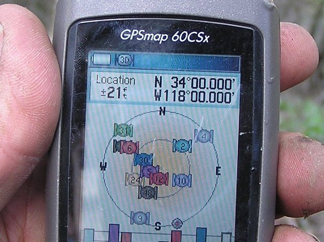 GPS zeroes out