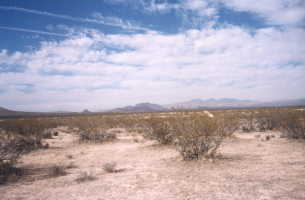 #1: A beatiful shot of the high desert and the Sierra Nevadas