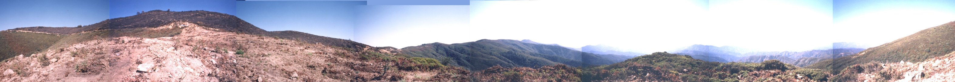 360-degree panorama standing at the confluence point (thumbnail is a partial view)