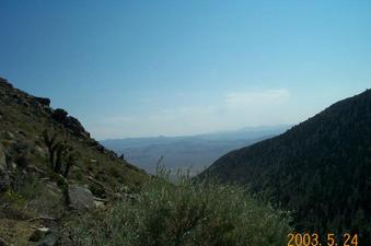 #1: Looking East from N36-W118