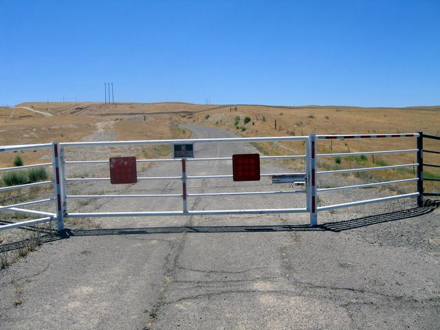 Second Locked Gate