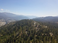 #10: View Southwest (down the North Fork Kings River) from 120m above the point