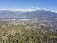 #9: View East (towards Wishon Reservoir), from 120m above the point