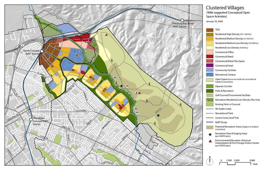Clustered_Villages_Reuse_Plan.jpg -- Reuse plan approved in February 2010 points to future public access at 38N 122W.