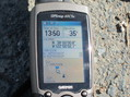 #6: GPS, showing coordinates, altitude, and distance to the CP