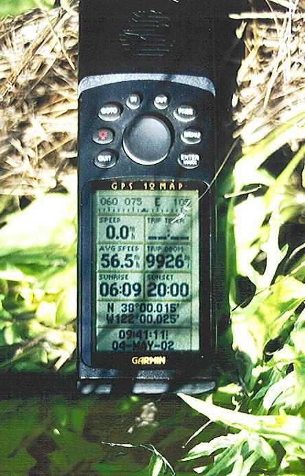 GPS 50 meters from the confluence.