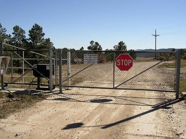 Vermejo Park Ranch Main Gate