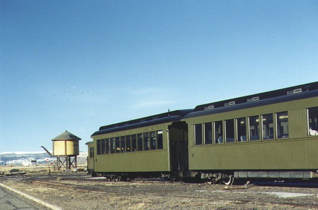 Cumbres and Toltec Train Cars