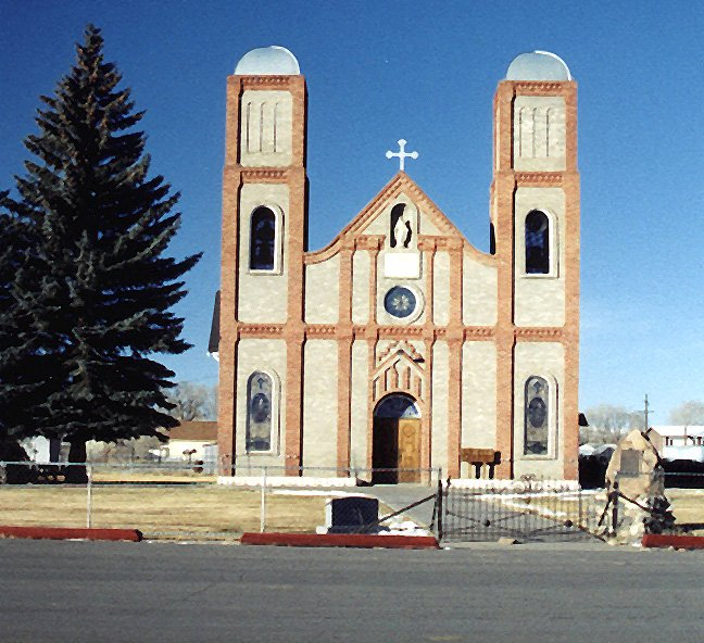 Our Lady of Guadalupe Church in Conejos - Colo's oldest