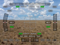 #9: View north using Theodolite - lots of useful data is superimposed.